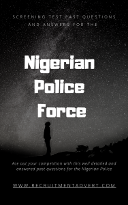 nigerian Police past questions pdf cover page