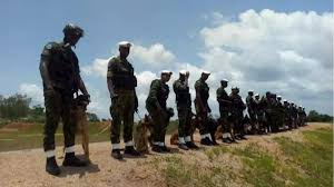 nigerian air force in practice
