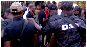 DSS officers mobilizing for recruitment
