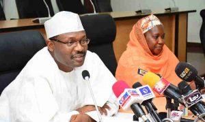inec president talking about the inec recruitment and application for the vacant jobs