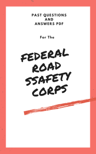 frsc past questions and answers